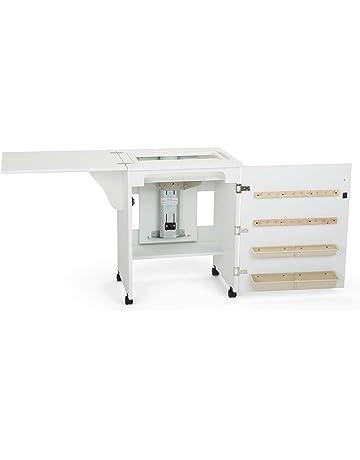 Mueble para máquina de coser- Senatra en Blanco