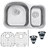undermount kitchen sinks lowes Ruvati RVM4400 Undermount 16 Gauge 32