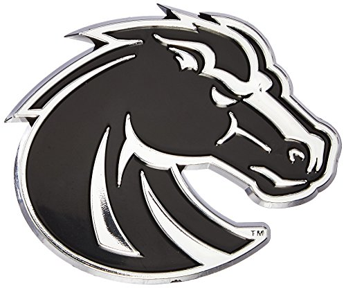 Broncos State Gear Boise (Team ProMark NCAA Boise State Broncos Chrome Automobile Emblem)