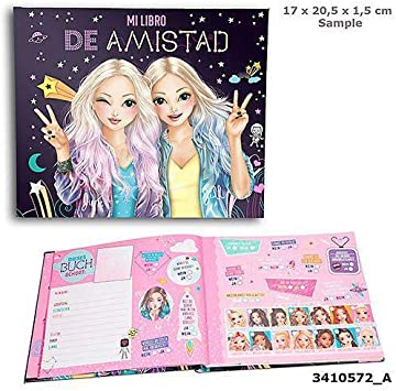 Toy Planet Amigos TOPModel Cuadernos y Libros para Colorear (Top ...