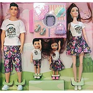 Munchkin Land Family Doll Set...