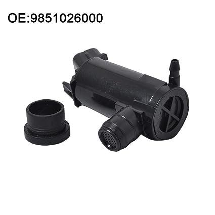 12 V Universal Parabrisas Bomba de Agua de Limpieza Lavado Eléctrica Motor para Coche Bomba Lave