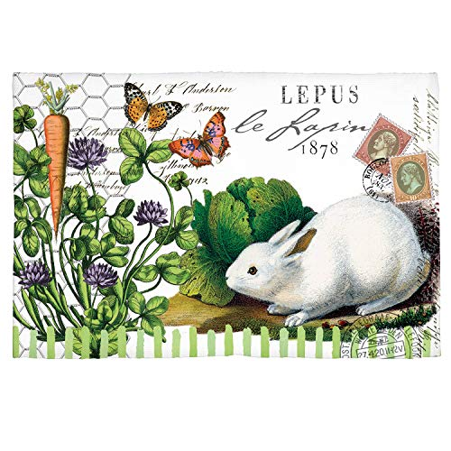 Michel Design Works Scatter Rug, Lapin