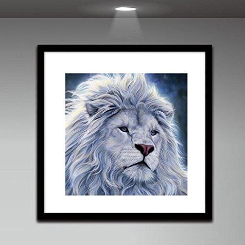 Lowprofile Lion Head 5D Embroidery Paintings Rhinestone Pasted DIY Diamond Painting Cross Stitch