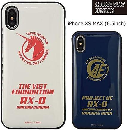 Amazon.co.jp: iPhone XS MAX Mobile Suit Gundam Efit Case Character ...