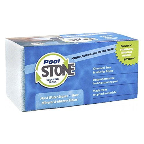 PoolStone Swimming Pool and Spa Large Surface Cleaning Block by EarthStone International