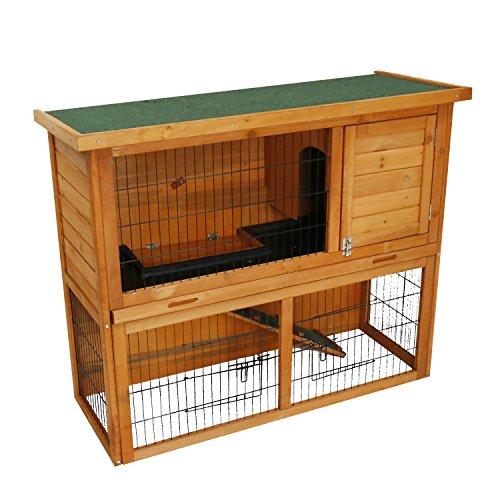 Kinbor 41-Inch Rabbit Hutch Bunny Cage Small Animal House Pet Cage by kinbor