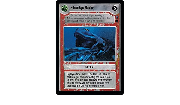 Star Wars CCG Reflections III Colo Claw Fish LS