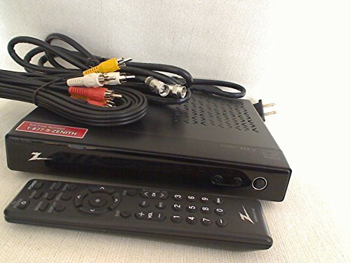 Zenith Digital Tuner Tv Converter Box Dtt900