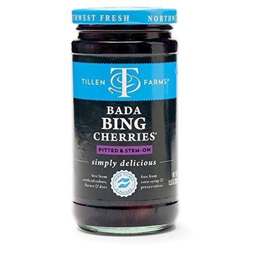 Tillen Farms Bada Bing Cherry,13.5 Ounce (Pack of 6)