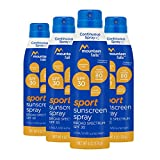 Mountain Falls Ultra Sunscreen Continuous Spray, SPF 50 Broad Spectrum UVA/UVB Protection, 6 Ounce (Pack of 4)