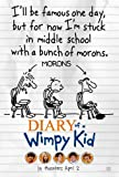 Diary of Wimpy Kid Movie Poster Double Sided Original 27x40