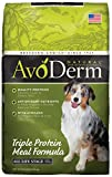 Image of AvoDerm Natural All Life Stages Triple Protein Meal Dry Dog Food, 30-Pound Bag