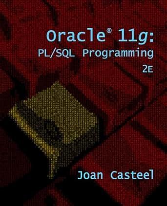Amazon. Com: oracle 11g: pl/sql programming ebook: joan casteel.