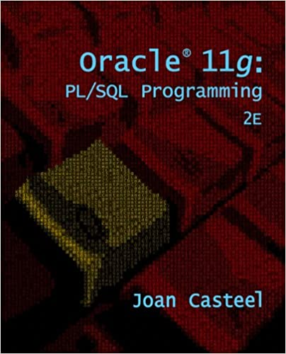 Oracle pl/sql programming 2nd second edition: steven feuerstein.