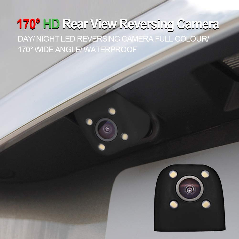 170 Degree HD CAR Rear View Reversing Camera 6M Cable YHCAM004
