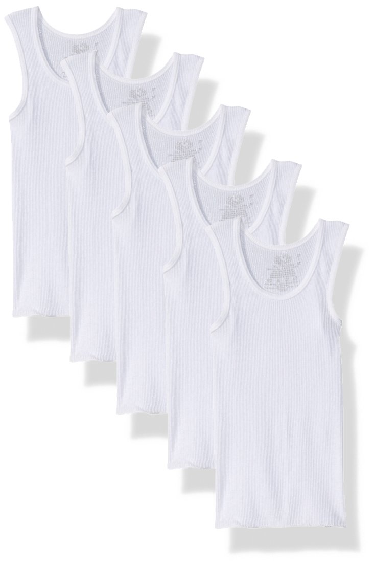 Fruit of the Loom Boys A-Shirt (Pack of 5) 5P501T