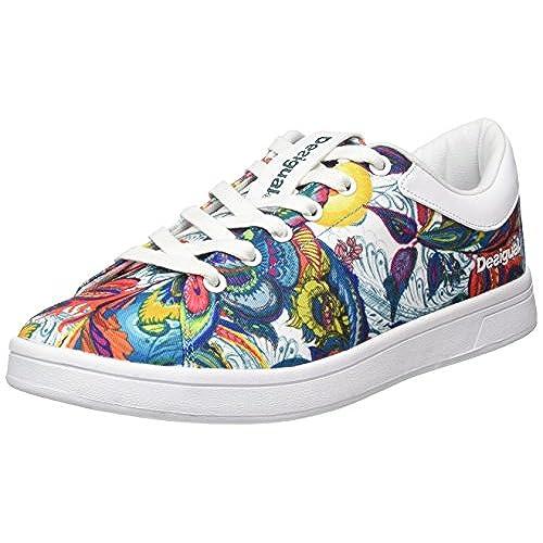 Desigual Basket Shoes Court Galactic Bloom 17WKRW29 1000