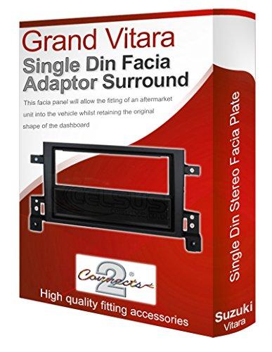 Connects2 Grand Vitara car stereo radio facia surround: Amazon.co.uk: Electronics