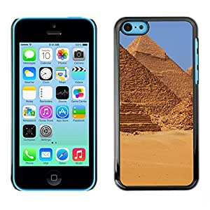 Print Motif Coque de protection Case Cover // V00002686 El pirámides de Giza en Egipto // Apple iPhone 5C