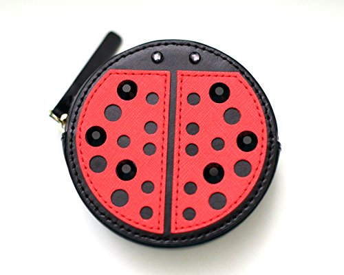 Kate Spade Ladybug Leather Coin Purse