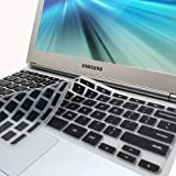 "GMYLE(R) Black Silicon Keyboard Cover (US Layout) for Samsung ARM 11.6"" Chromebook Series 3 XE303C12 (Do Not Fit For Samsung Chromebook 2)"