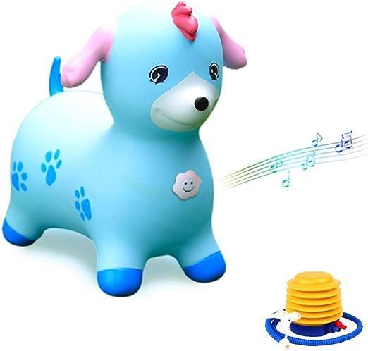 fantastic savings on feet images of sale retailer WHTBB Blue Horse Hopper,Inflatable Horse Hopper Blue Dog ...