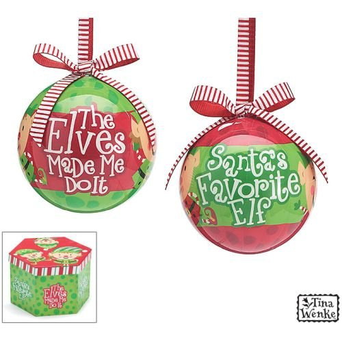 Holiday Elves (Christmas Holiday Ornaments 3