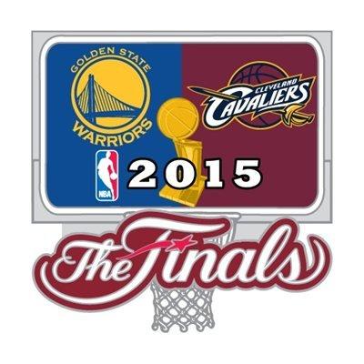 (2015 NBA Finals Cavaliers vs. Warriors Dueling Pin)