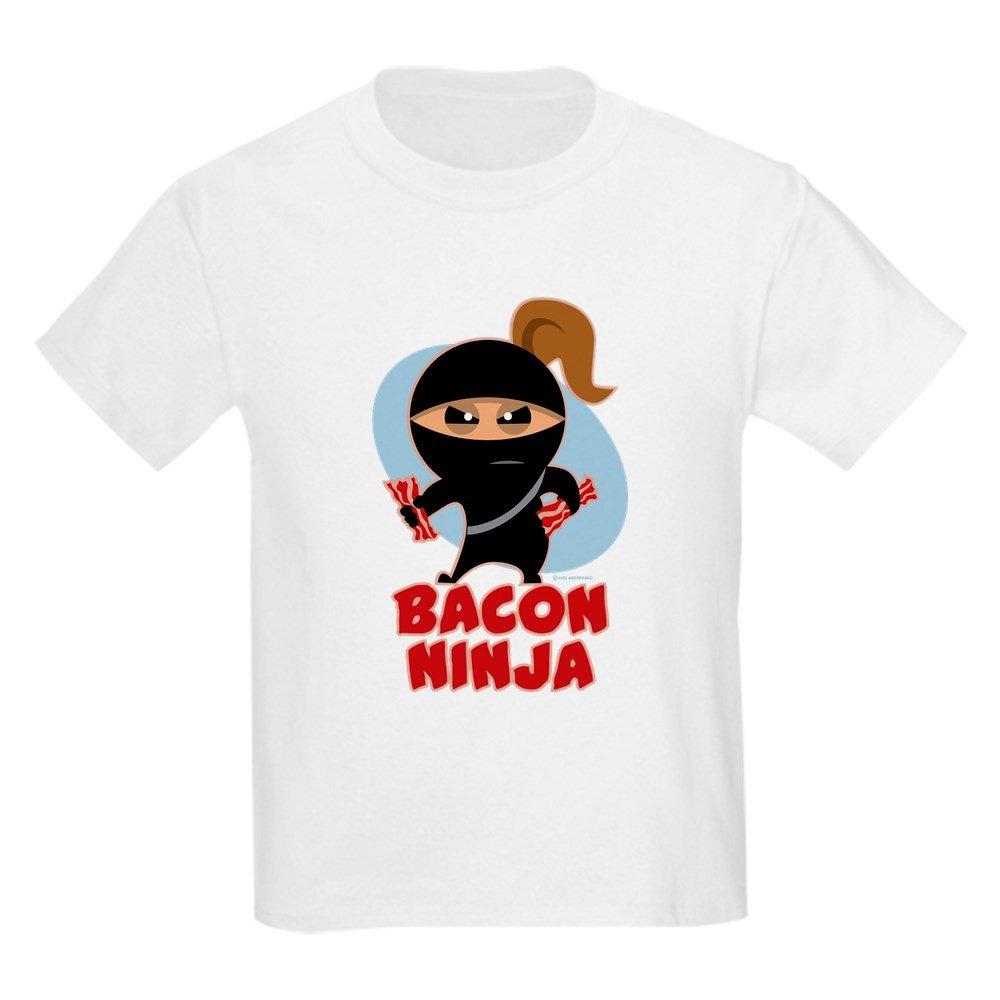 CafePress - Bacon Ninja T-Shirt - Youth Kids Cotton T-shirt