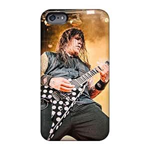 Shock-Absorbing Cell-phone Hard Covers For Iphone 6 (EzG9191STwZ) Unique Design Stylish Machine Head Band Series