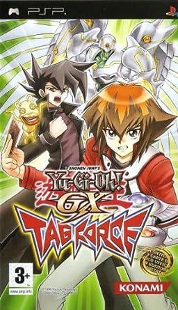 تحميل لعبة يوغي يو جي إكس الشهيرة على الكمبيوتر Yu-Gi-Oh GX Tag Force PC 51G5p0c0BaL._SY445_