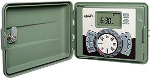 Orbit 57896 6-Station Outdoor Swing Panel Sprinkler System Timer