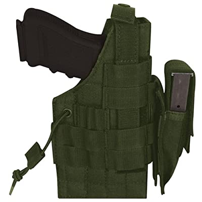 Ultimate Arms Gear OD Olive Drab Green Large Frame Ambidextrous Belt Holster