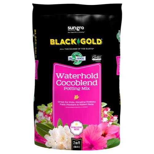 Black Gold Waterhold Cocoblend Potting Soil 2cuft