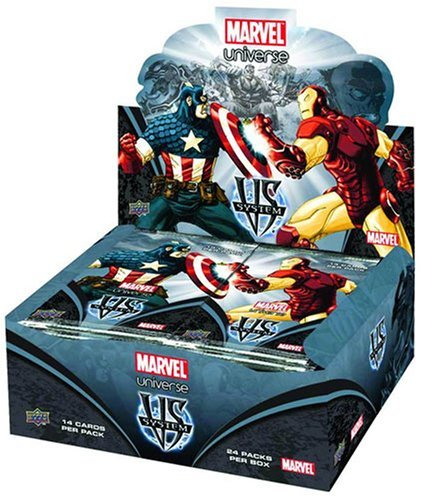 Marvel VS System Trading Card Game Marvel Universe Booster Box 24 Packs