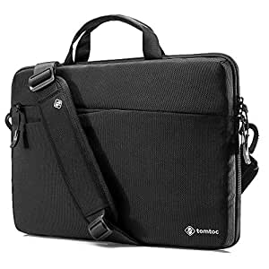 "tomtoc Slim Laptop Shoulder Bag Sleeve Fit for 14-inch Lenovo ThinkPad X1 Carbon Yoga | 15"" New MacBook Pro Touch Bar A1990 A1707 