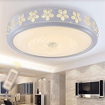 Simple y moderna lámpara de techo led, mesas de salón ...