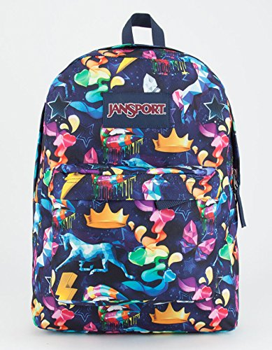 JANSPORT Rainbow Mania SuperBreak Backpack, Multi