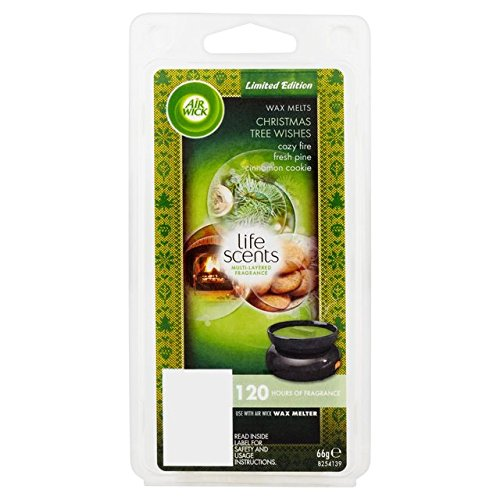 Airwick LIFE SCENTS Christmas Tree Wishes Wax Melts 66g Limited Edition Rechitt Benckiser