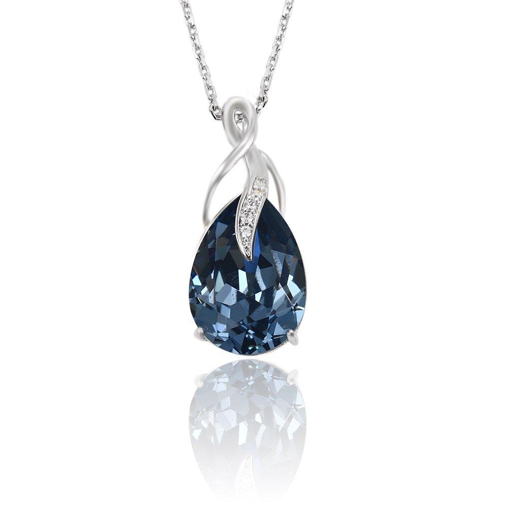 Xuping Halloween Necklace Crystals from Swarovski Jewelry M3-0915 (Montana)