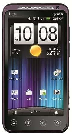 HTC EVO 3D 4G Android Phone, Plum (Sprint)