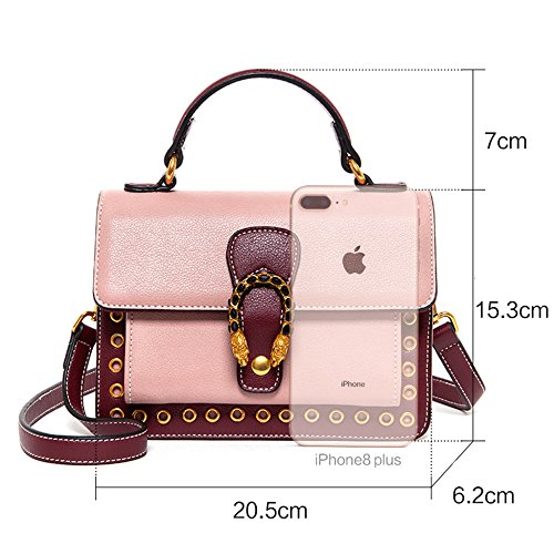 Bag Contrast Handbags Bag Messenger Mini Party Outdoor Fashion For Shoulder New Simple Blue wYBFwqR