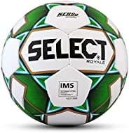 Select Sport Select 2019/2020 Royale Soccer Ball, White/Green, Size 5