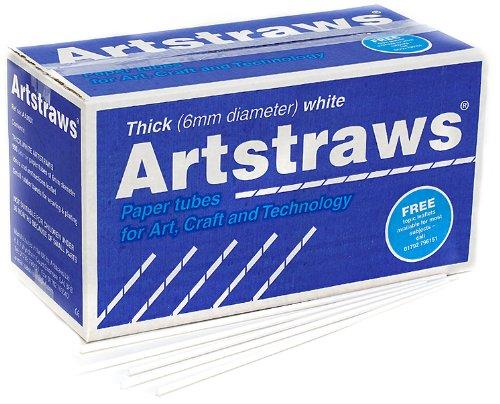 Artstraws School Pack, Thick White (900) Artstraws Limited AA9031