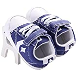 WAYLONGPLUS Prewalker Infant Anti-skid Soft Baby Shoes Toddler Sneaker (Blue Size 12) Review