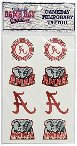 Alabama Crimson Tide Temporary Tattoos - NCAA Alabama Crimson Tide Tattoo