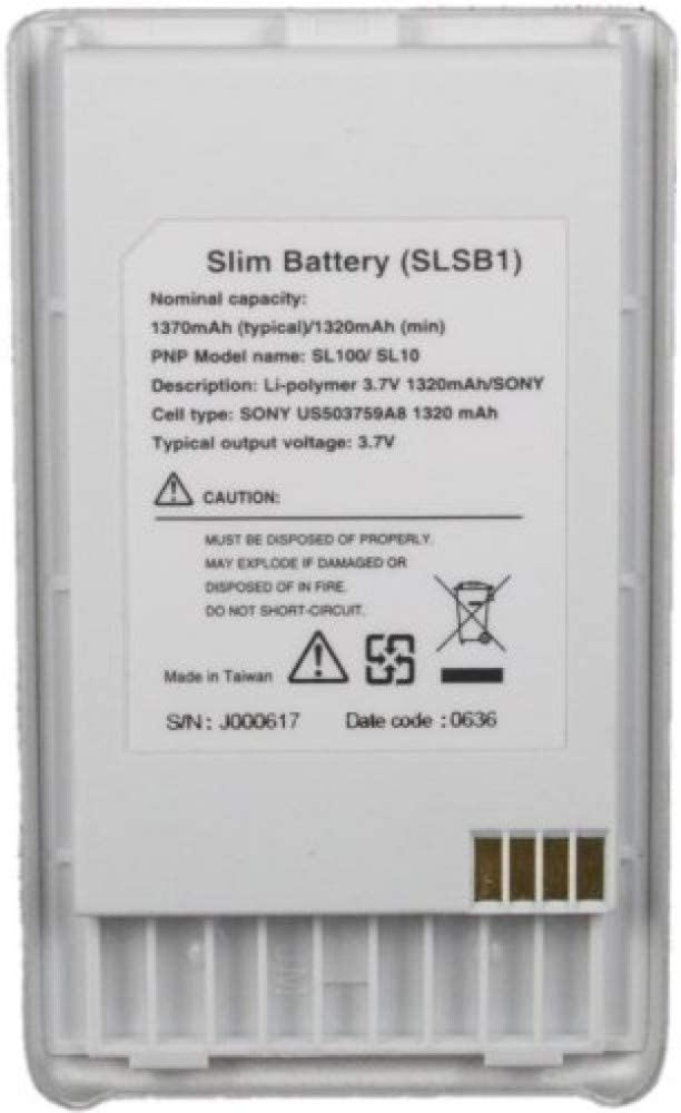 T004579 SLSB1 2x Battery for Sirius SL100PK1 T004200 T0058844 SL10PK1