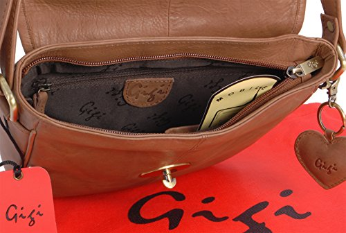 cuir en Gigi en Sac Besace Gigi Besace cuir Sac vxfnq46HEw