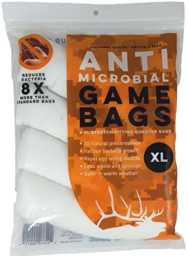 Koola Buck Antimicrobial Game Bags (Elk 4 Pack)